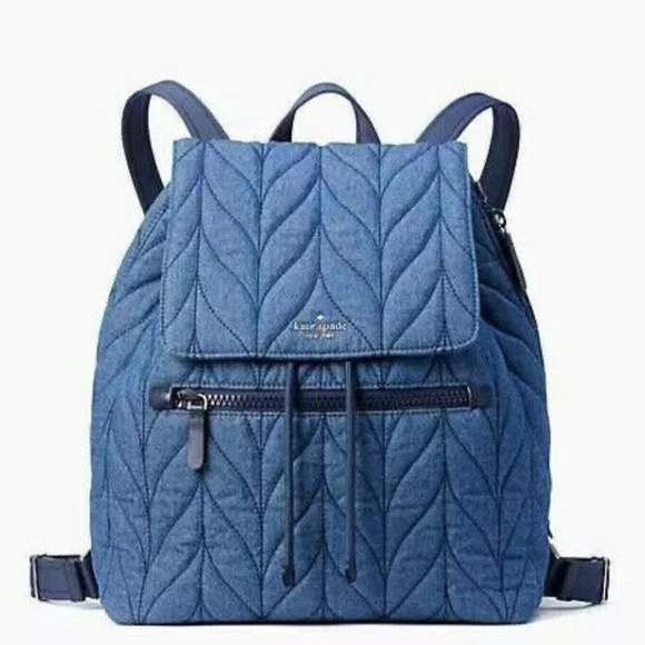 NEW Kate Spade Lightweight Quilted Backpack bag